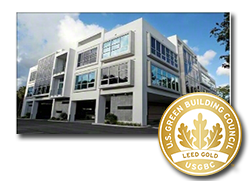 LEED Gold Certified Building